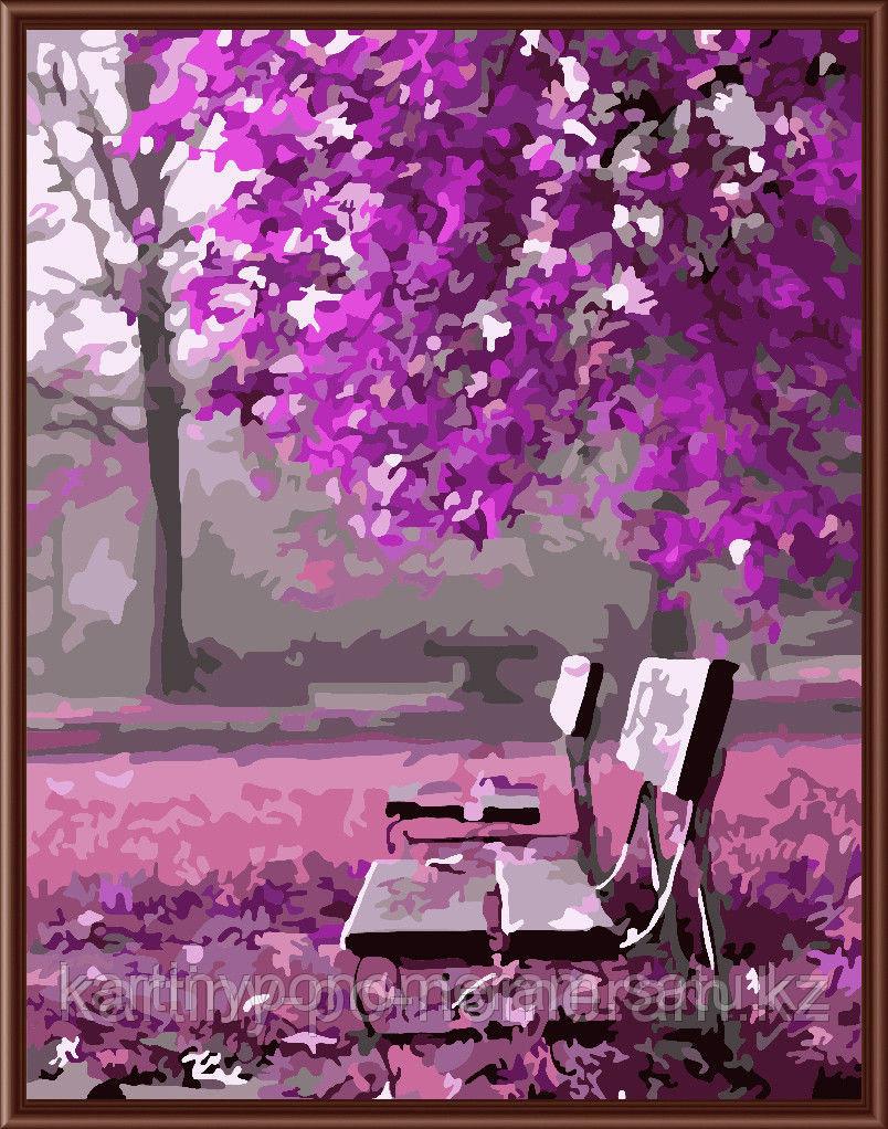 """Картины по номерам - Алматы, """"В розовом саду"""""""