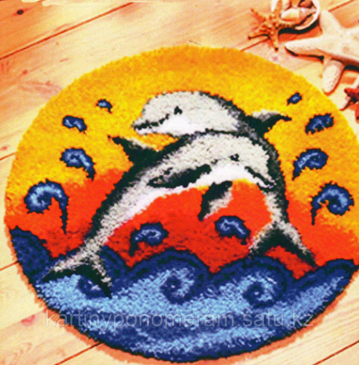 Вышивка в ковровой технике ZD026, 52x52см