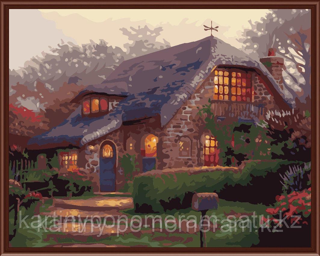 """Картины по номерам  - Алматы, """"Английский дом"""""""