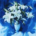 """Картина по номерам """"Белые лилии"""""""