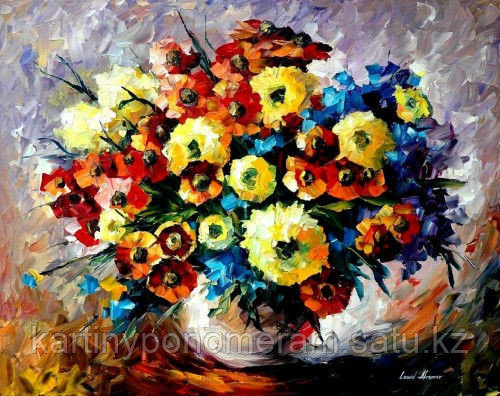 """Картина по номерам """"Магия цветов. Л.Афремов"""""""