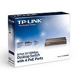 Коммутатор TP-Link TL-SF1008P, фото 3