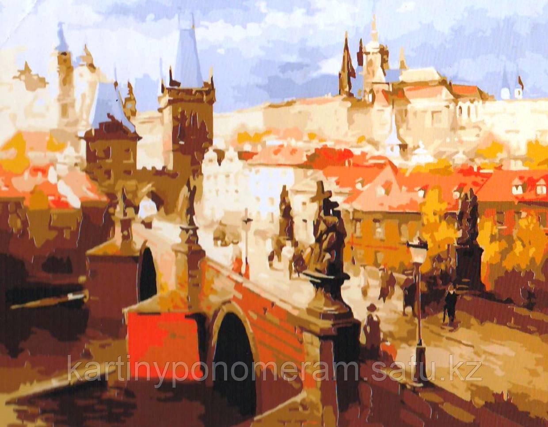 """Картина по номерам - """"Чехия, г.Прага"""""""