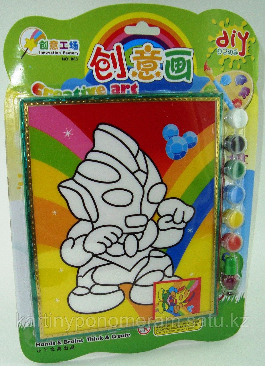 Картины-раскраски для детей 3D, Андроид 23x20