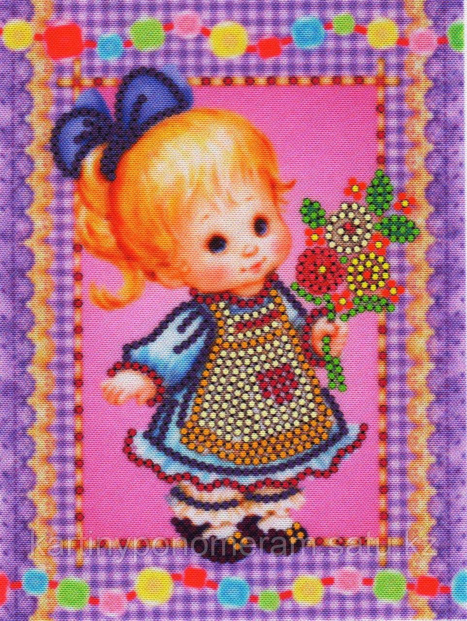 """Набор для вышивания бисером """"Букет в подарок"""" арт.012"""