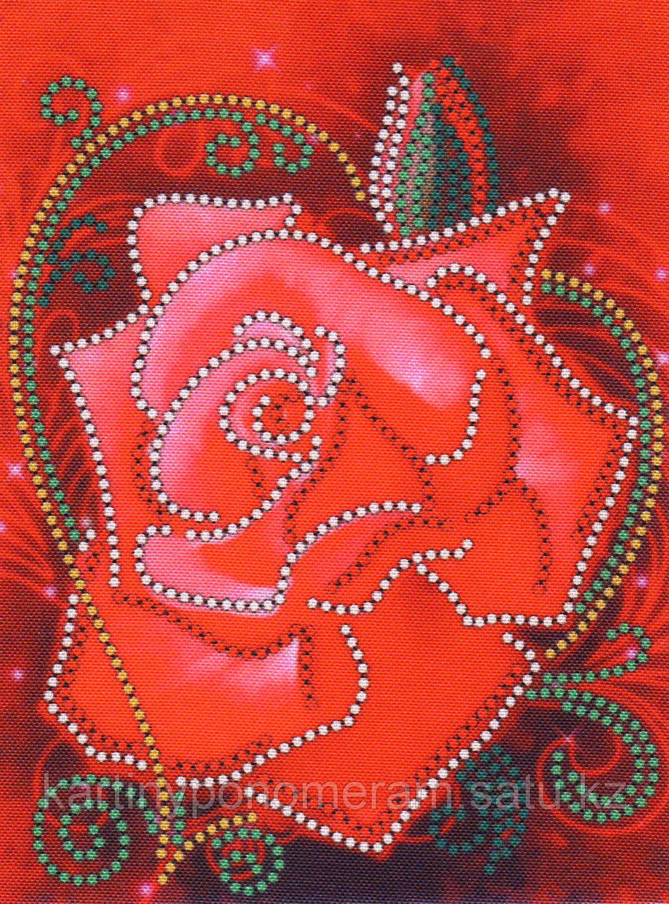 """Набор для вышивания бисером """"Роза"""" арт.037"""