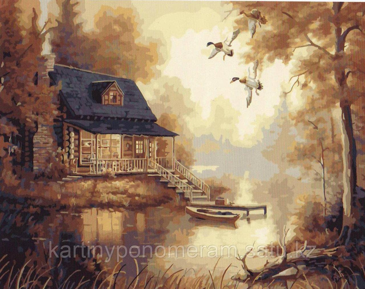 """Картина по номерам """"Утки над озером"""""""