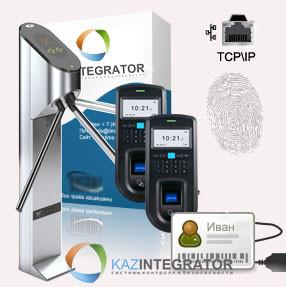 Биометрическая система контроля доступа по отпечаткам пальцев