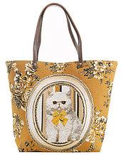 """Женская сумка """"Персидская кошка"""" 105-934S-1/1"""