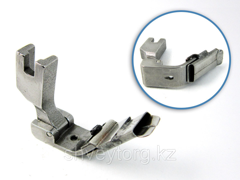 """P338C 3/8"""" (S10C 3/8"""") Лапка для настрачивания тесьмы (ленты) по центру, шириной 9,5 мм"""