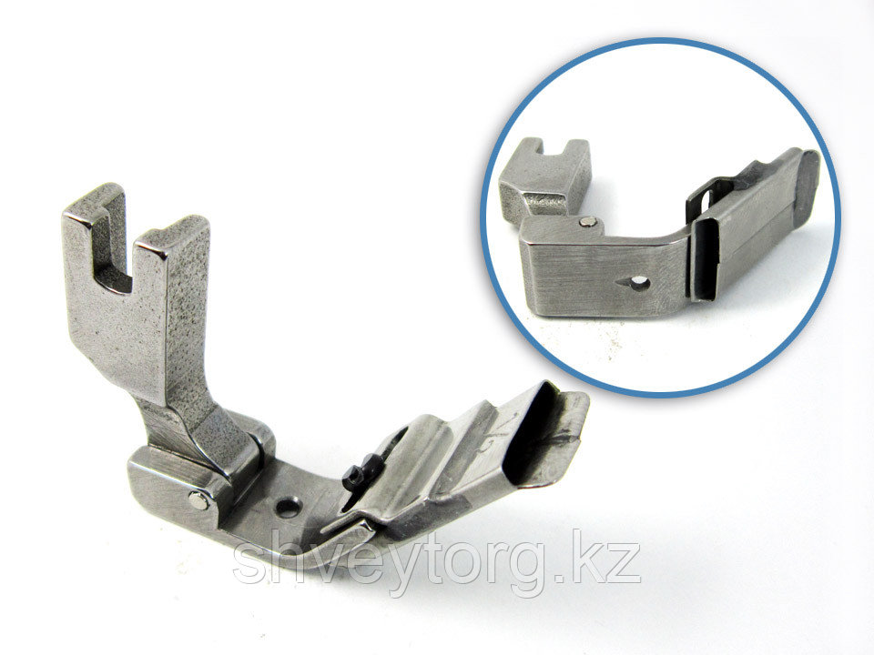 """P312C 1/2"""" (S10C 1/2"""") Лапка для настрачивания тесьмы (ленты) по центру, шириной 12,7 мм"""