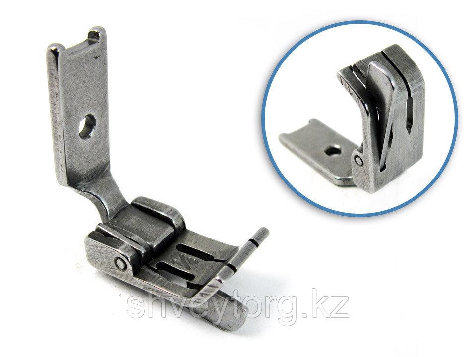 S570HL Лапка для отделочной строчки с левым ограничителем для двухигольной машины.