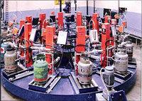 Карусельные установки для заправки газовых баллонов