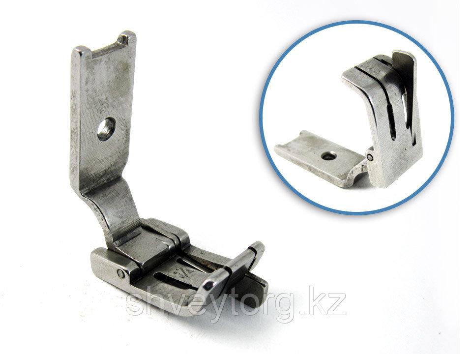 S570HR Лапка для отделочной строчки с правым ограничителем для 2-х игольной машины.