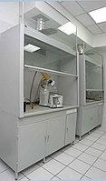 Шкаф вытяжной стальной стандартный без сантехники, 1200х720х2200 мм