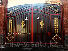 Ворота металлические на заказ