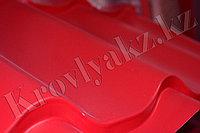 Металлочерепица супермонтеррей глянец Ral 3003 (красный), фото 1