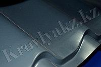Металлочерепица супермонтеррей глянец 7024 (серый), фото 1