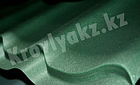 Металлочерепица супермонтеррей матовое покрытие 6005 (зеленый), фото 1