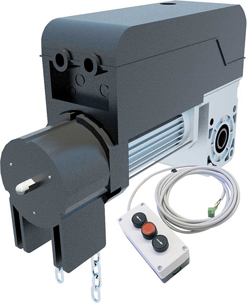Привод промышленных ворот PEGASO BCJA 230 V  (до 25 кв.м. стандартного подъема ворот). BFT-Италия