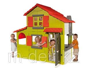Детский игровой  домик двухэтажный