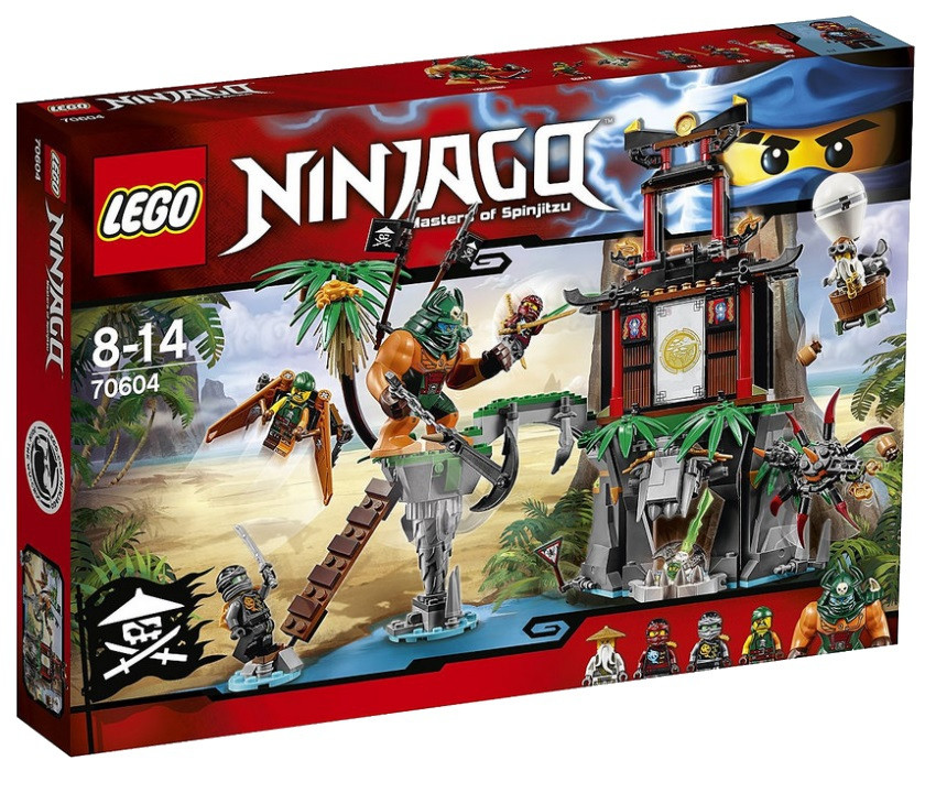 70604 Lego Ninjago Остров тигриных вдов, Лего Ниндзяго