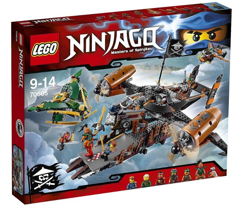 70605 Lego Ninjago Цитадель несчастий, Лего Ниндзяго