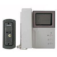 Видеодомофон черно-белый JEJA в комплекте с вызывной панелью (Ю. Корея)