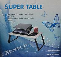 Подставка-столик для ноутбука с 1 мощным кулером Super table LD99, Алматы, фото 1