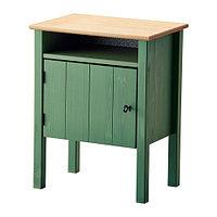 Тумба прикроватная ГУРДАЛЬ зеленый ИКЕА, IKEA, фото 1