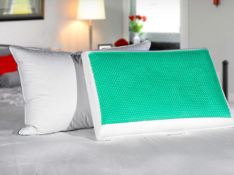 Подушка MemoryForm 40*60*14 Green EcoGel Askona