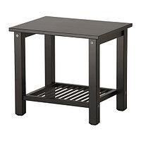 Тумба прикроватная РИКЕНЕ чёрно-коричневый ИКЕА, IKEA