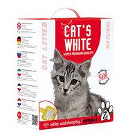 Наполнитель кошачьих туалетов Cat's White Natural