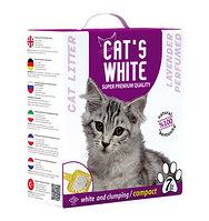 Наполнитель кошачьих туалетов Cat's White Lavender