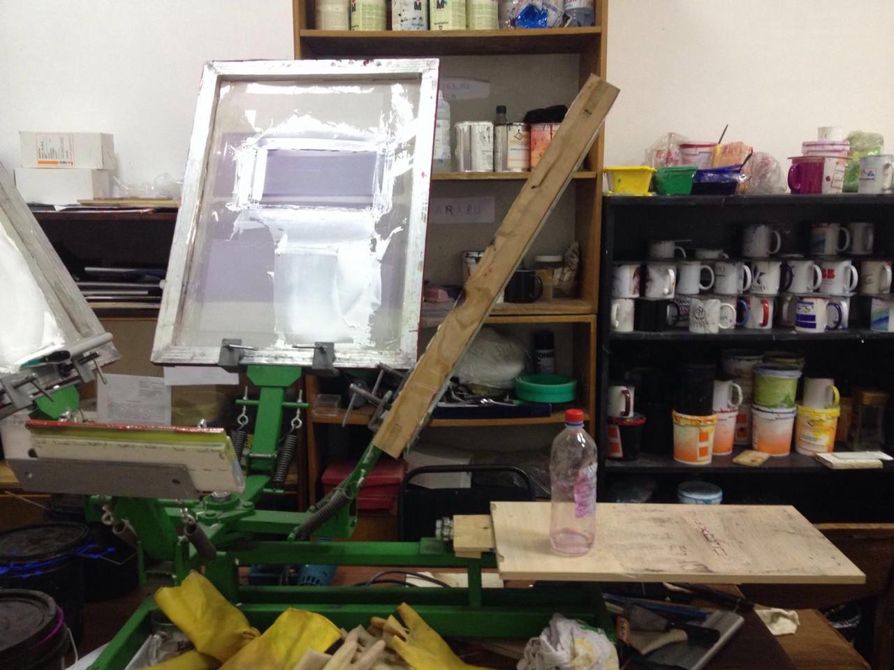 Оборудование для шелкографии, станок, засветка, расходные материалы. Новое, на заказ и в наличии. Обучение.