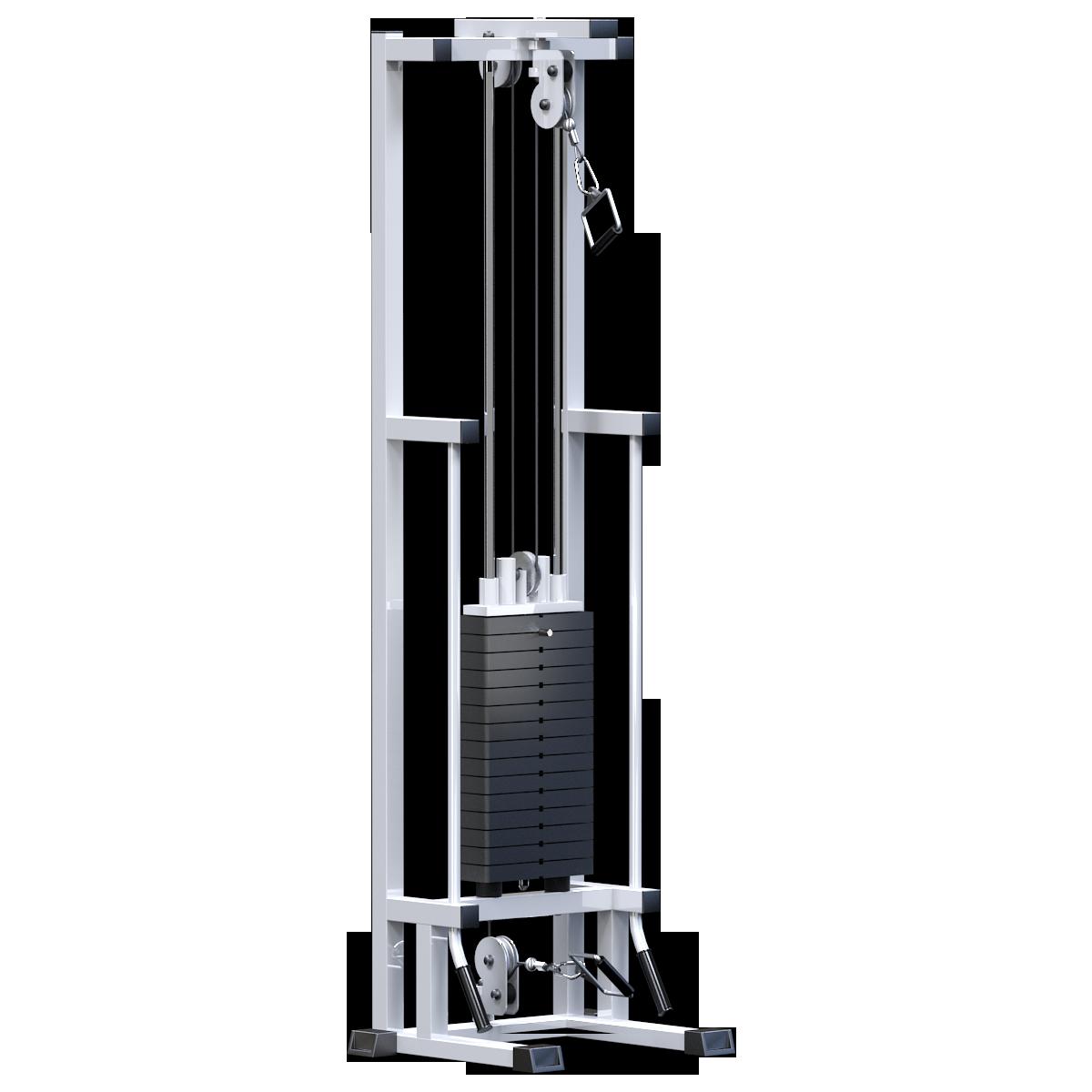 Реабилитационный тренажер (стек 75кг)  (AR083.1х75)