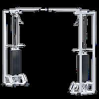 Кроссовер на базе многофункциональной рамы (стек 2х100кг) (AR084.2х100)
