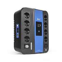 SVC U-1000 Источник бесперебойного питания, Smart, USB, 1000ВА/600Вт