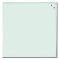 Стеклянная магнитно-маркерная доска Naga 45×45 белая (10702), фото 1