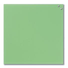 Стеклянная магнитно-маркерная доска Naga 45×45 зеленая (10750)
