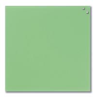Стеклянная магнитно-маркерная доска Naga 45×45 зеленая (10750), фото 1