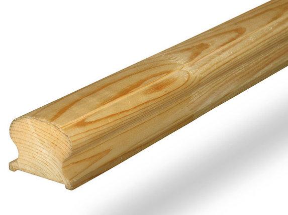 Поручень деревянный 70х45х3000, фото 2