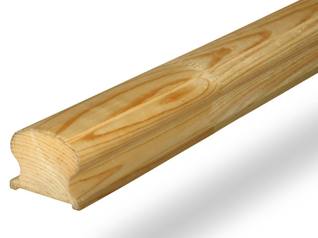 Поручень деревянный 64х40х4000