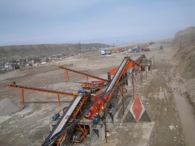 Дробильно-сортировочный Комплекс, ДСУ 150-200 т/ч из Китая в Казахстане