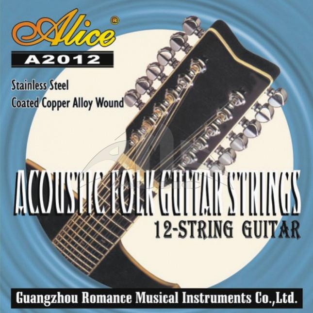 Струны для 12 струнной гитары Alice A-2012