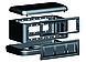 DKC 09090 Напольная башенка BUS, 12 модулей, черная, RAL7016, фото 3