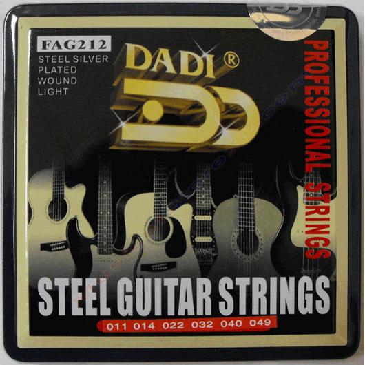 Струны для акустической гитары Dadi FAG212