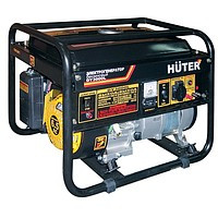 Электрогенератор бензиновый однофазный 2,5 кВт HUTER DY3000L