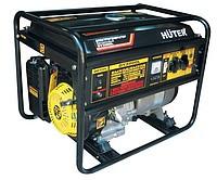 Электрогенератор бензиновый однофазный 4 кВт HUTER DY5000L