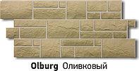 """Фасадная панель Docke-R серия """"Burg"""" цвет Оливковый, фото 1"""